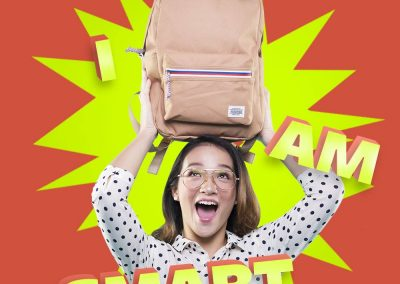 American Tourister Backpack Campaign